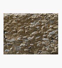 Rough stone wall (Karakul) Photographic Print
