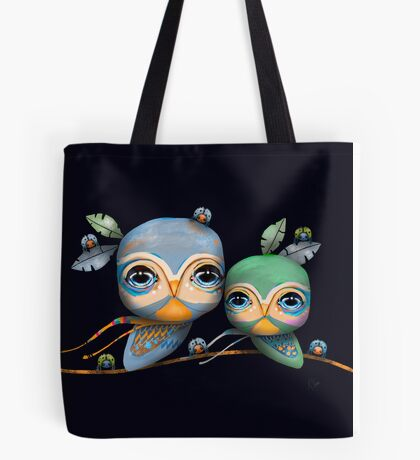 Bird Life Tote Bag