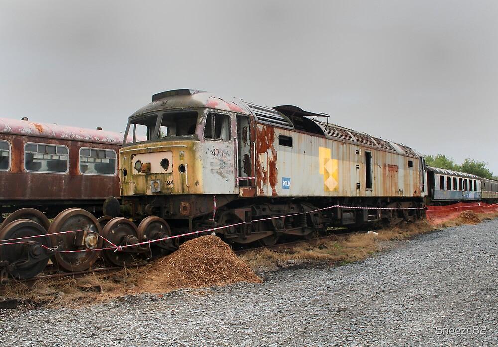 Derelict locomotive. by Sneeze82