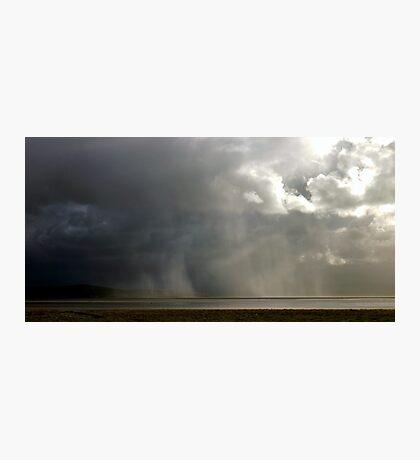 Storm across the bay Photographic Print