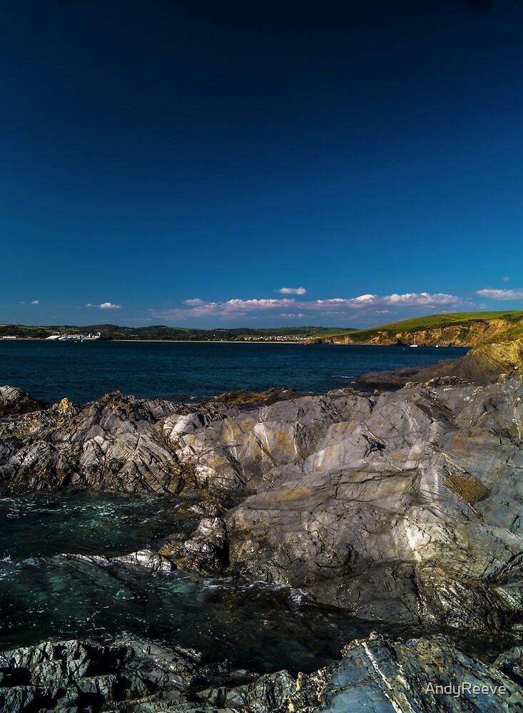 Coastal View nr Polkerris by AndyReeve