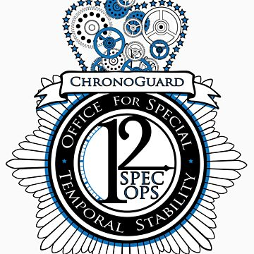 Chronoguard (Sticker) by OneShoeOff