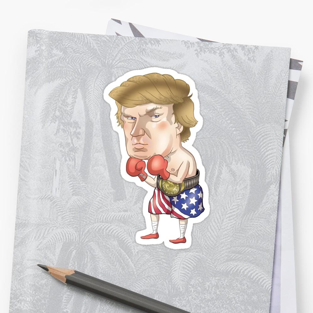Donald Trump Sticker Front