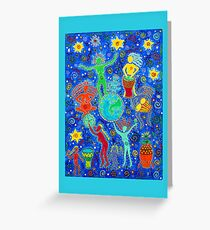 Earth Dance Greeting Card