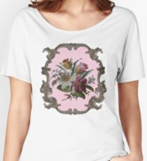 Rococo Flower Women's Relaxed Fit T-Shirt