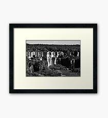 Iguazu Framed Print