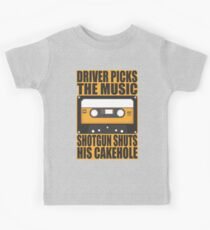 SUPERNATURAL - Driver Picks the Music.. Kids Tee