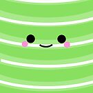 I'm a cute Iphone and I smile [Green] by Mhaddie