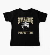 Funny Perfect Ten Women's Bowling T-Shirt Baby Tee
