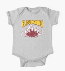 El Duderino Bowling T-Shirt One Piece - Short Sleeve