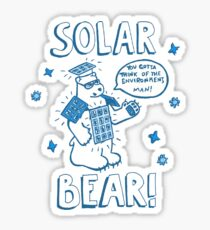 Solar Bear Sticker