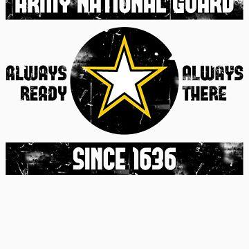 National Guard Baseball Tee by rtkit93