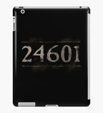Prisoner 24601 Les Miserables iPad Case/Skin