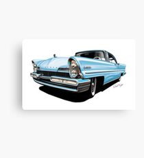 Blue Lincoln Canvas Print