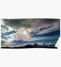 dramatic clouds V Poster