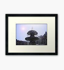 Piazza San Pietro Framed Print