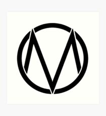 The maine - Band logo Art Print