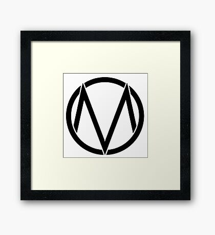 The maine - Band logo Framed Print