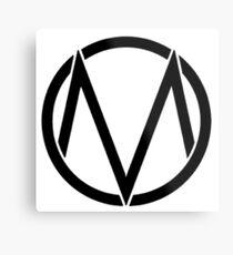 The maine - Band logo Metal Print