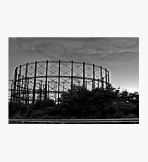Iron Cage Photographic Print