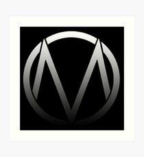 The Maine - Band  Logo Fade Art Print