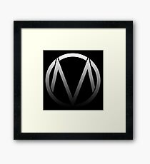 The Maine - Band  Logo Fade Framed Print