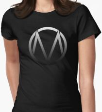 The Maine - Band  Logo Fade Women's Fitted T-Shirt