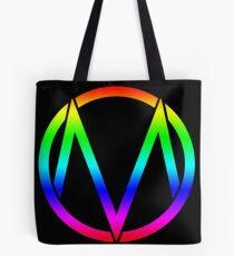The Maine - Band  Logo Rainbow Tote Bag