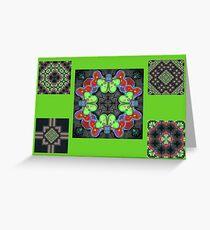 Kaleidoscope Love Greeting Card