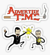 Advertise Time! Sticker