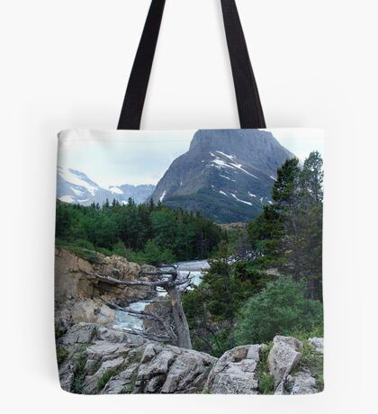 THE RUN FROM SWIFTCURRENT LAKE Tote Bag