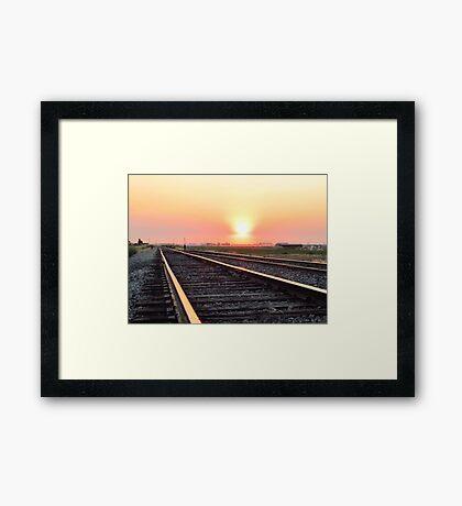 Best of Luck ~  Framed Print