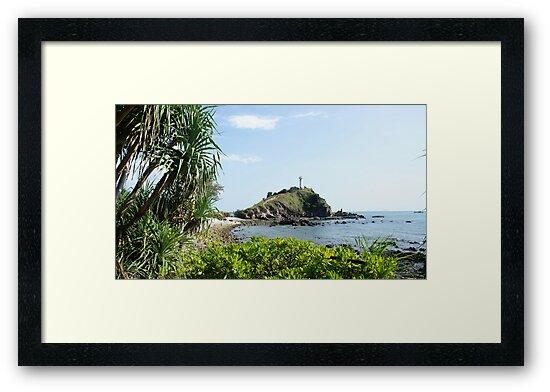 Island Light House  by PerkyBeans