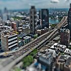 59th Street Bridge in Miniature by Vincent Frank