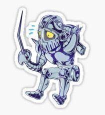 lil Silver Chariot - JoJo's bizarre adventure Sticker