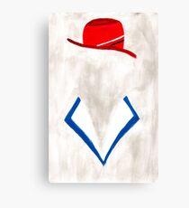 Agent Canvas Print