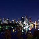 Brisbane River Blues by Peter Doré