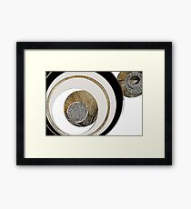 Textured Abstract 3 - Unexplained Framed Print