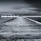 Newcastle Ocean Baths - The Path by Michael Howard