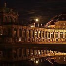 Zwinger in Dresden by night by x- pose