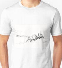 Bison Buffalo Charging T-Shirt