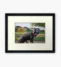 Triathlon! Framed Print