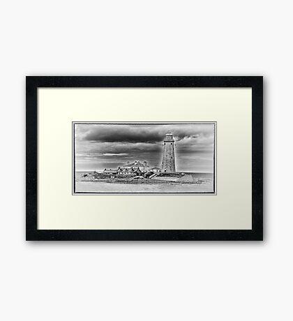 St Marys Lighthouse Framed Print