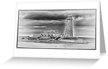 St Marys Lighthouse by Trevor Kersley