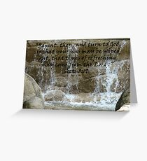 """""""Acts 3:19""""  by Carter L. Shepard Greeting Card"""