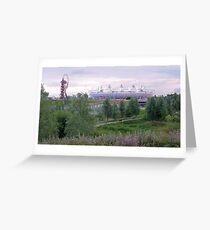 London 2012 Olympic Park Greeting Card