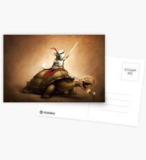 Knight of the Chinchilla Postcards