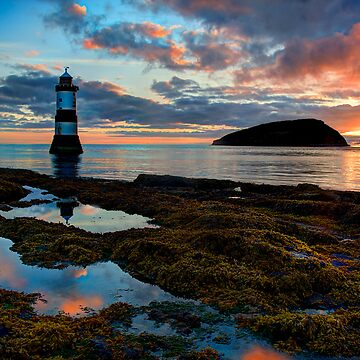 Penmon Lighthouse Puffin Island Anglesey, North Wales, U.K. by malbraman