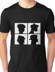 Gorillaz - Demon Days Silhouette Unisex T-Shirt