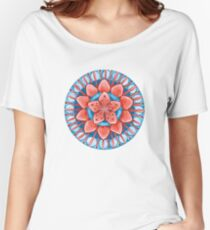 Frosted Cherry Blossom Women's Relaxed Fit T-Shirt